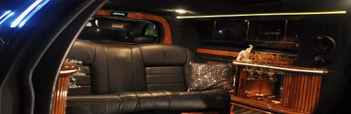 Wnętrze limuzyny